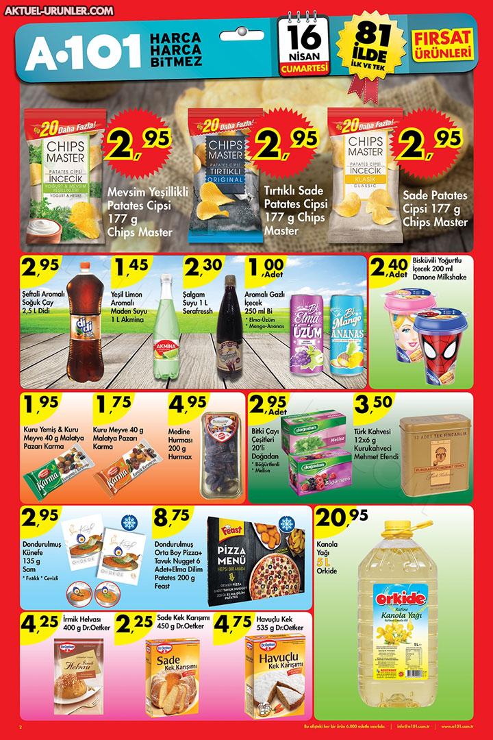 A101 16 Nisan 2016 Aktüel Ürünler Kataloğu