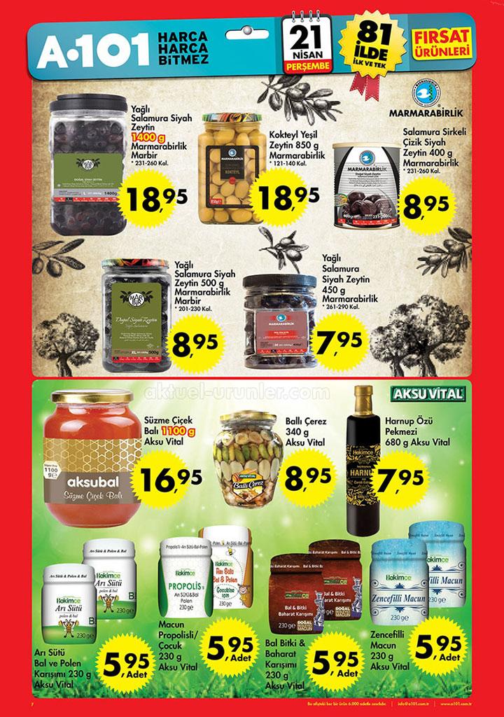 A101 21 Nisan Dördüncü Aktüel Ürünler Sayfası