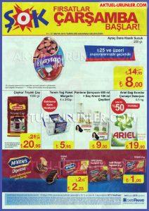 ŞOK 11 Mayıs Aktüel Ürünleri 25 TL İndirimi Sayfası
