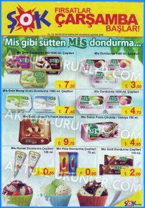 ŞOK 18 Mayıs MİS Dondurma Aktüel Ürünleri