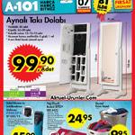 A101 7 Temmuz Aktüel – Takı Dolabı ve Banyo Ürünleri