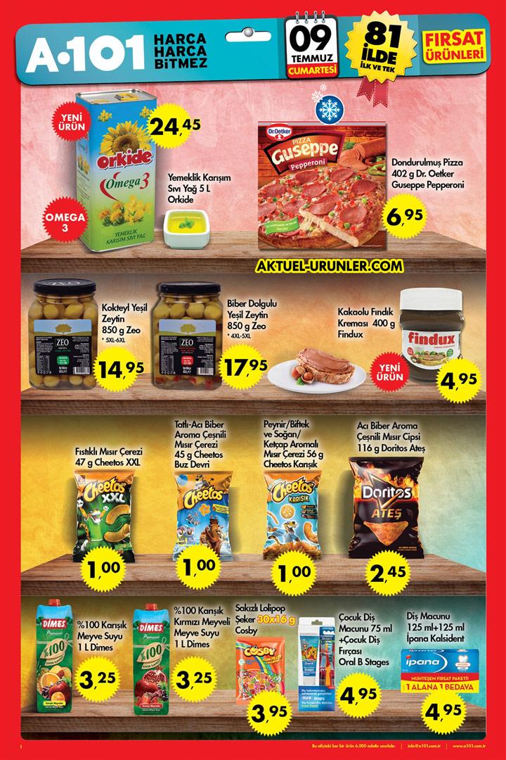 A101 9 Temmuz Aktüel Ürünler Hafta Sonu Kaçığız Kataloğu