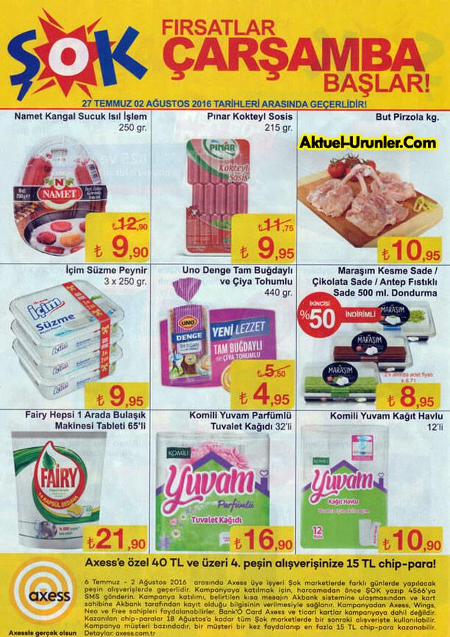 ŞOK 27 Temmuz Aktüel Ürünleri – İndirimli Ürünler