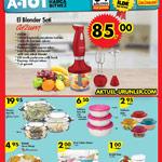 A101 4 Ağustos Aktüel Katalogu - Arzum El Blender Seti