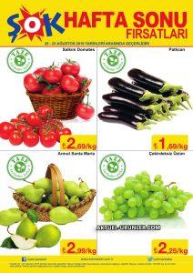 ŞOK 20 Ağustos Aktüel Ürünler Kataloğu - Hafta Sonu