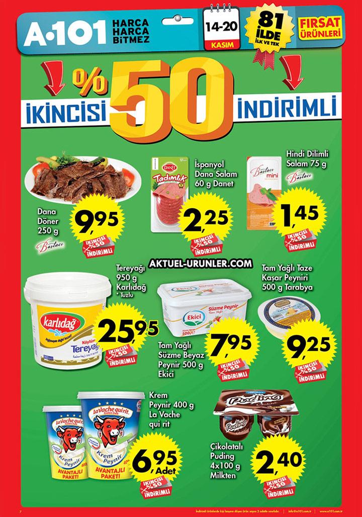 A101 14 Kasım – 20 Kasım Aktüel Ürünler Kataloğu