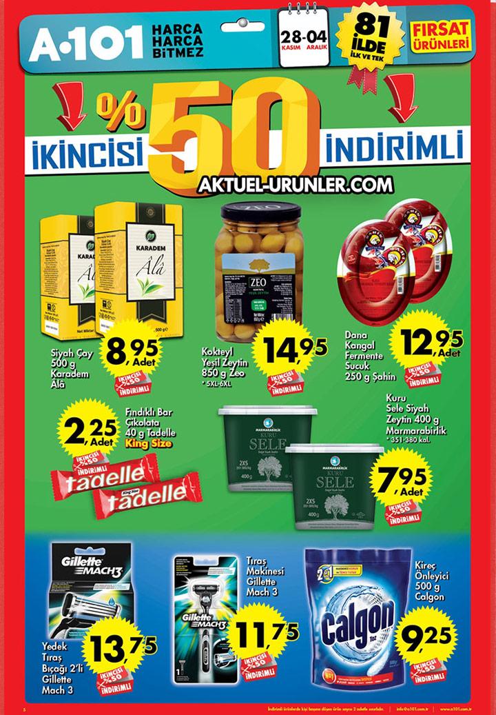 A101 28 Kasım – 4 Aralık Aktüel Ürünler Kataloğu