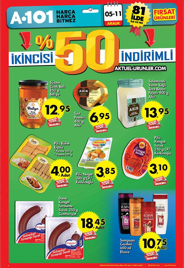 A101 5 Aralık – 11 Aralık Aktüel Ürünler Kataloğu