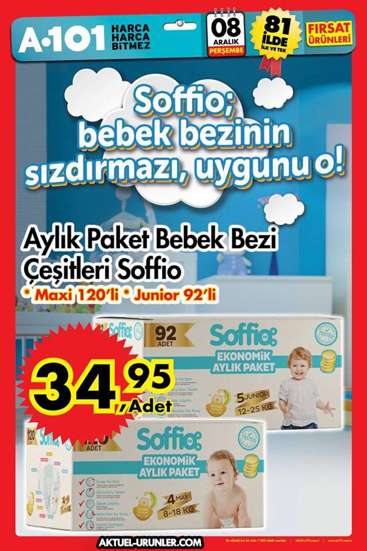 A101 8 Aralık Soffio Aktüel Ürünler Sayfası