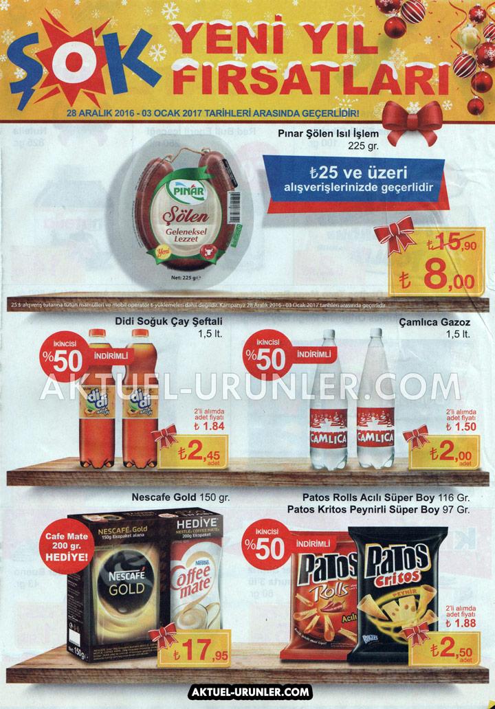 ŞOK 28 Aralık Aktüel Ürün Katalogları – İndirimler