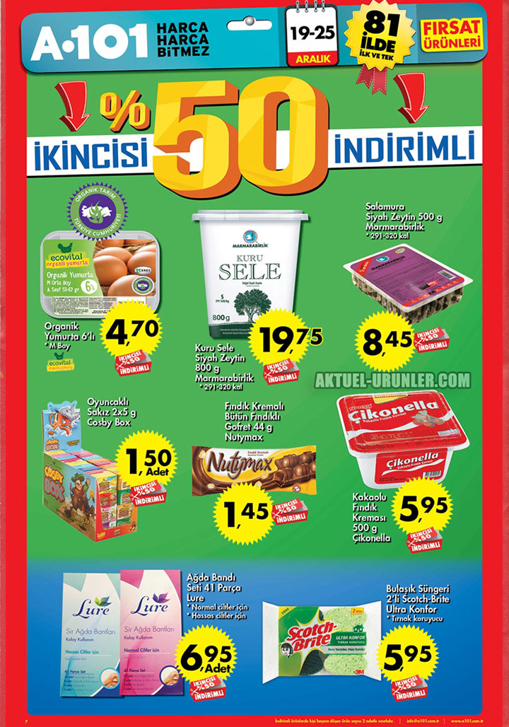 A101 19 Aralık – 25 Aralık Aktüel Ürünler Kataloğu