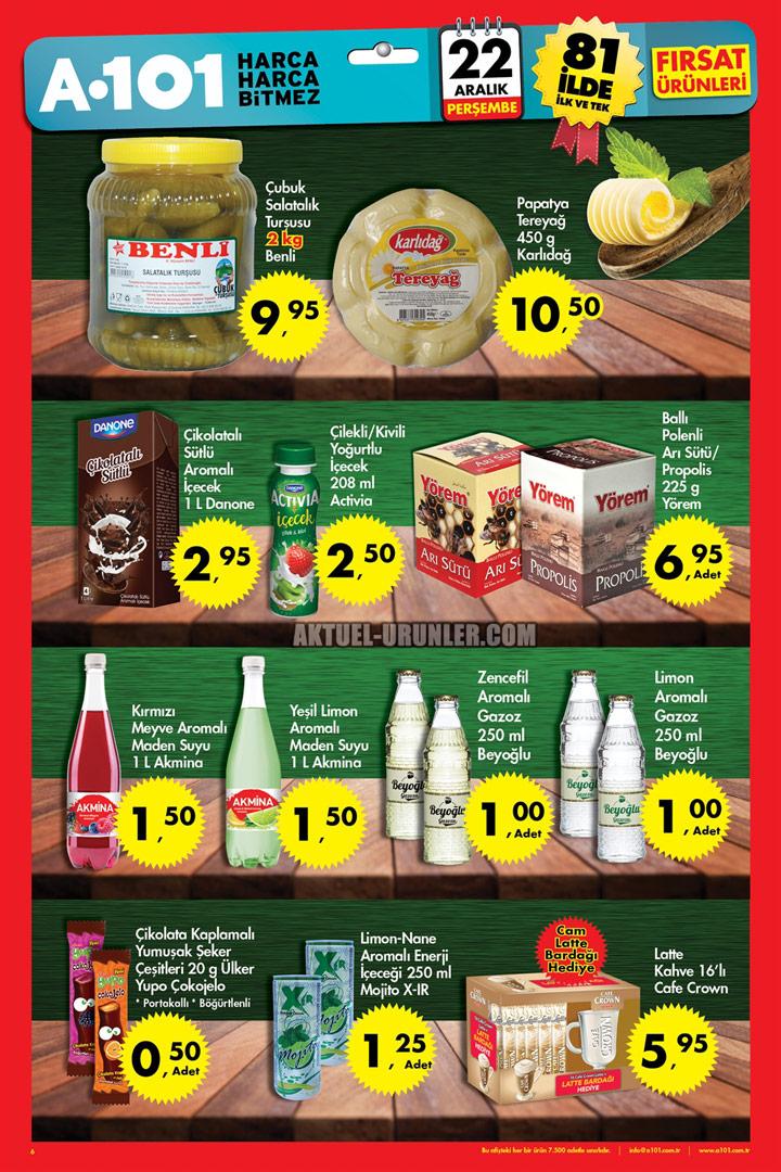 A101 22 Aralık Aktüel İndirimli Ürünleri – Perşembe