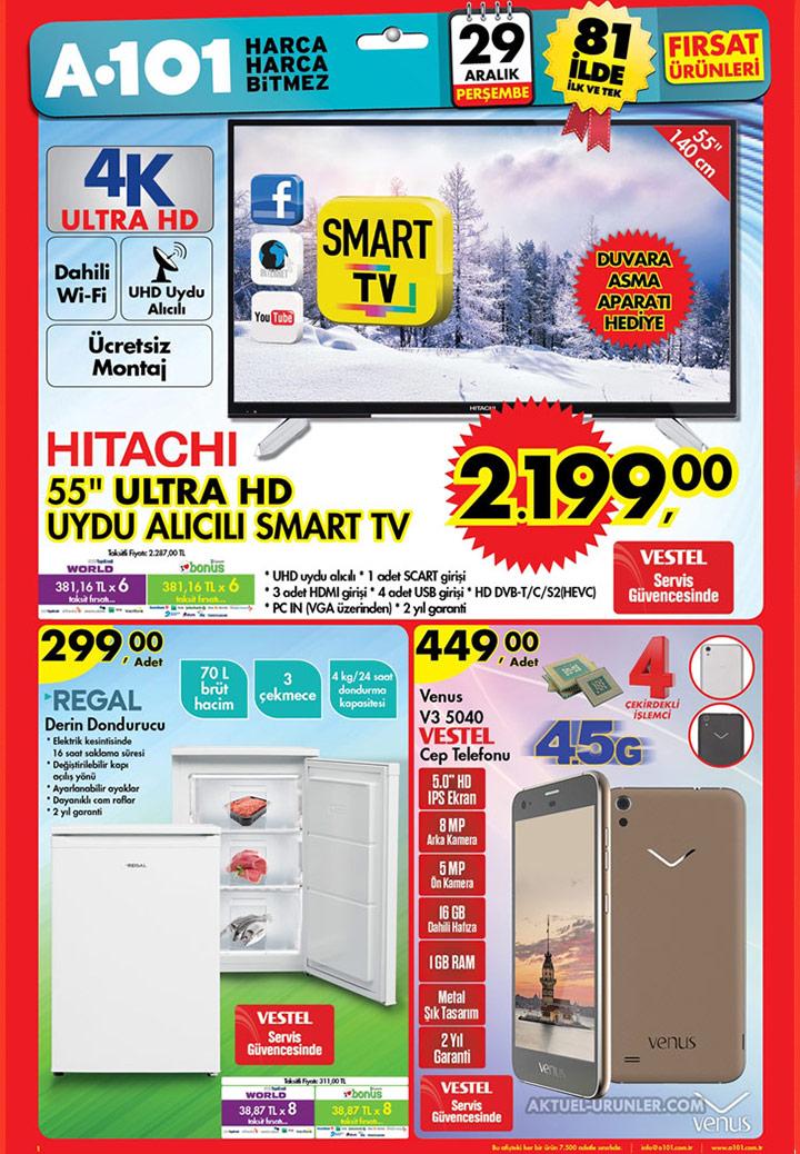 A101 29 Aralık Aktüel Ürünleri – HITACHI TV
