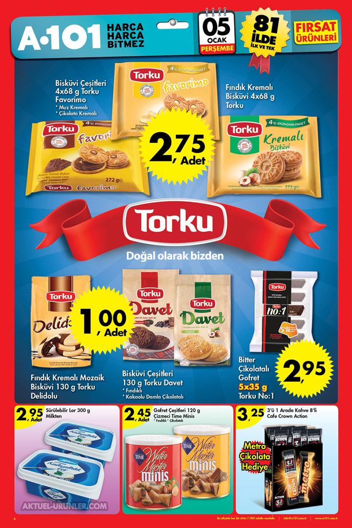 A101 5 Ocak Perşembe Aktüel Ürünleri – TORKU