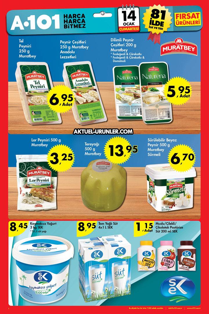 A101 14 Ocak 2017 Aktüel Ürünler Kataloğu
