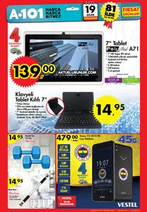 A101 19 Ocak 2017 Aktüel Ürünler Kataloğu
