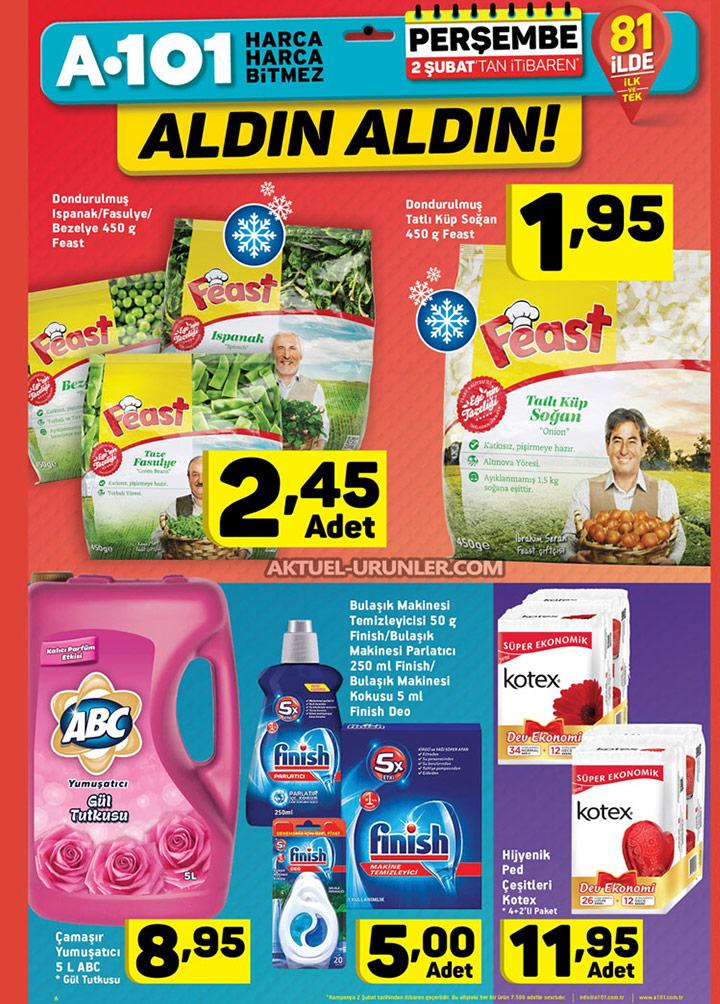 A101 2 Şubat Aktüel Ürünleri Kataloğu – Aldın Aldın