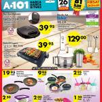 A101 26 Ocak Aktüel 2017 – Fakir SMS410 Blender
