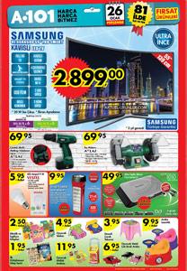 A101 26 Ocak 2017 Aktüel Ürünler Kataloğu