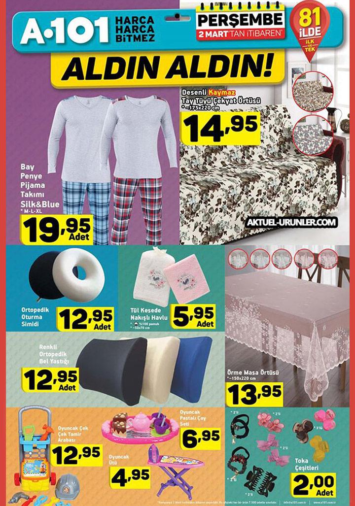 A101 2 Mart 2017 Sayfa 3 – Ev Tekstili Aktüel Ürünleri