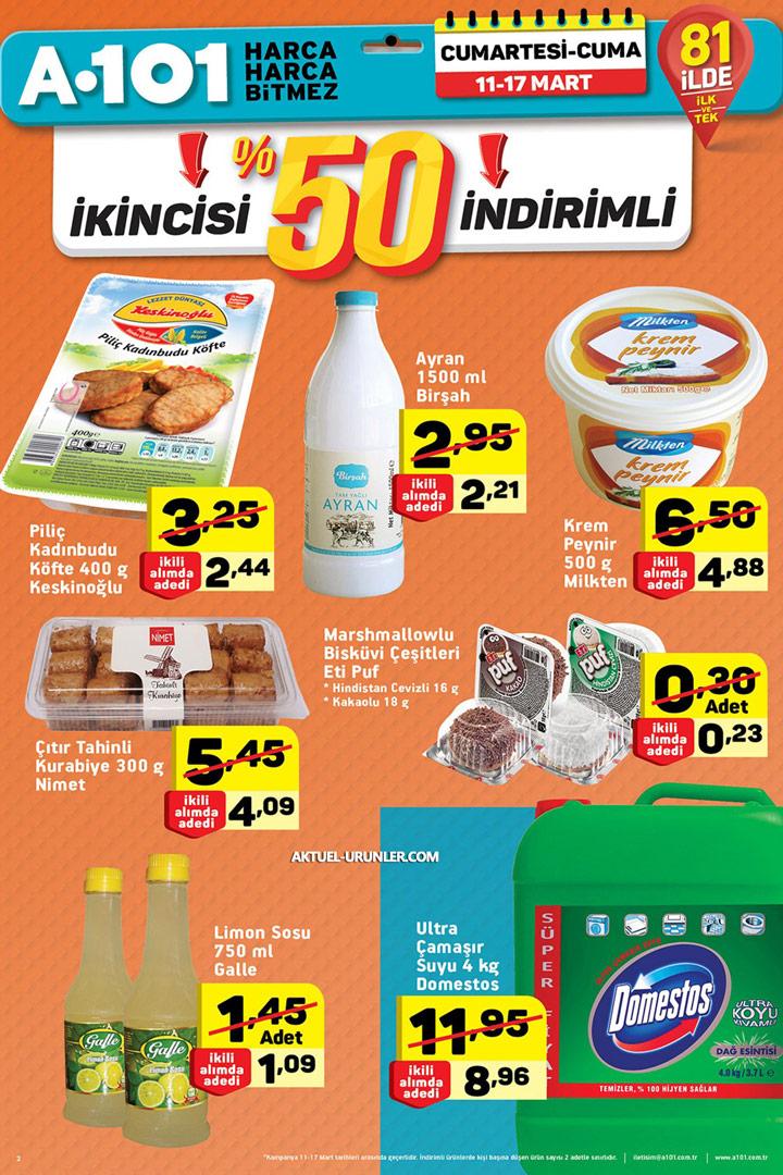 A101 11 Mart 2017 Aktüel Ürünler Kataloğu