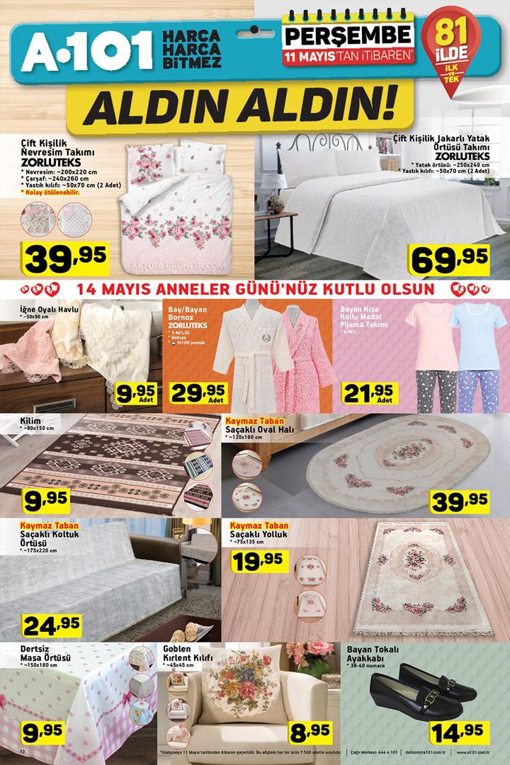 A101 11 Mayıs Aktüel Ürünler Kampanyalı Fırsatlar