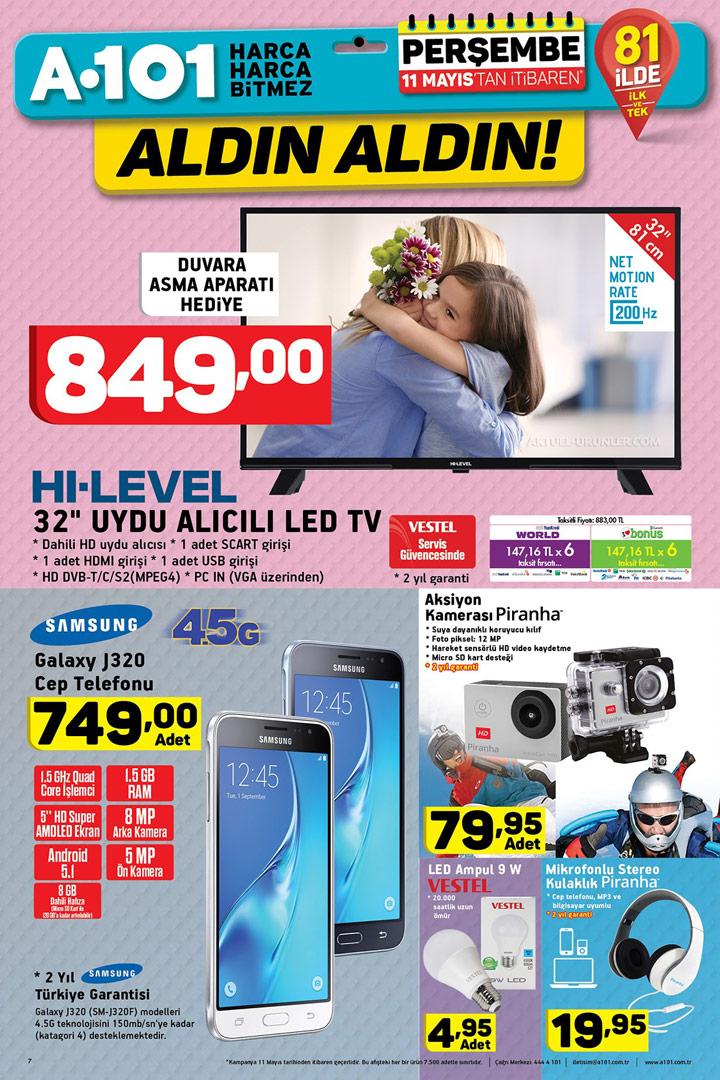 A101 11 Mayıs Aktüel Ürünleri – Elektronik Ürünler