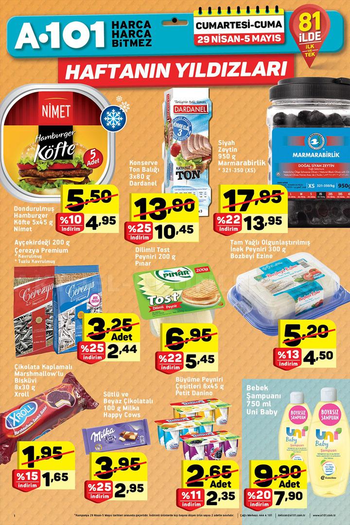 A101 29 Nisan 2017 Aktüel Ürünler Kataloğu