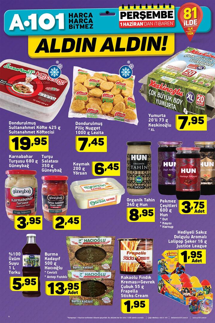 A101 1 Haziran Aktüel Ürünleri Aldın Aldın Gıda İndirimleri