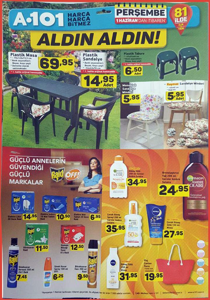 A101 1 Haziran Aktüel – Plastik Bahçe Ürünleri