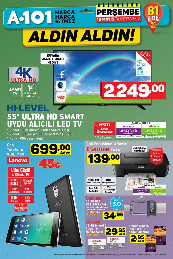 A101 18 Mayıs Aktüel Ürün İncelemeleri Sayfası