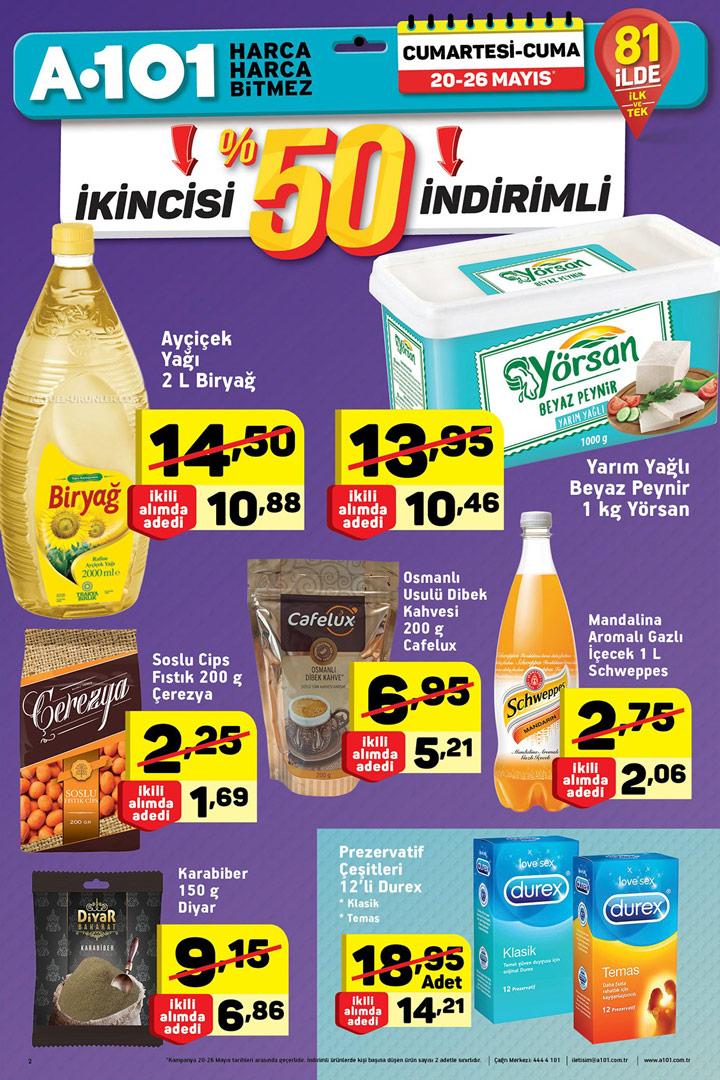 A101 20 Mayıs Aktüel Ürünleri Hafta Sonu Kataloğu