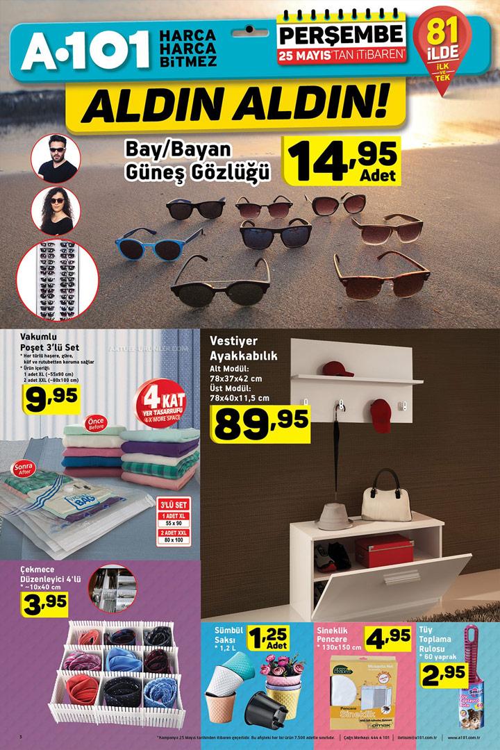 A101 25 Mayıs Aktüel Ürün Katalog İncelemesi
