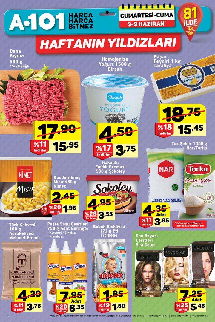 A101 3 Haziran 2017 Aktüel Ürünler Kataloğu