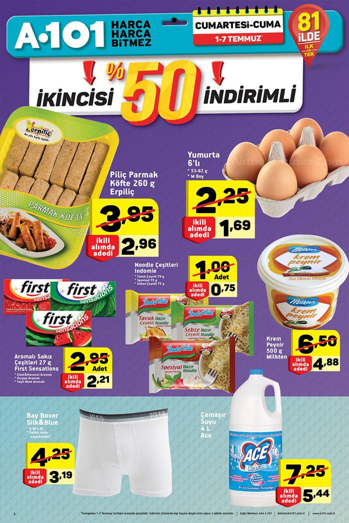 A101 1 Haziran Aktüel Ürünler Hafta Sonu Kataloğu