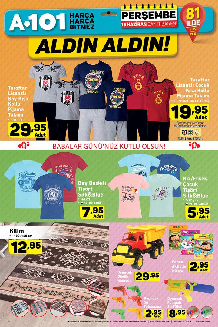 A101 15 Haziran Aktüel Ürün Fırsatları Ev Tekstili