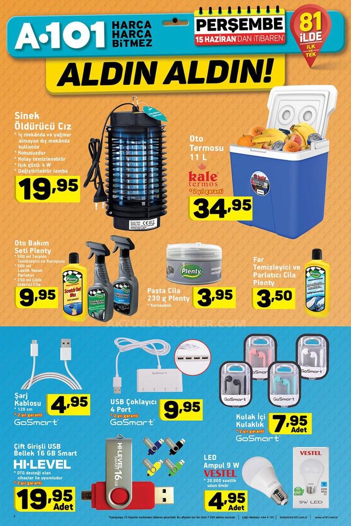 A101 15 Haziran Babalar Günü Özel & Otomobil Ürünleri