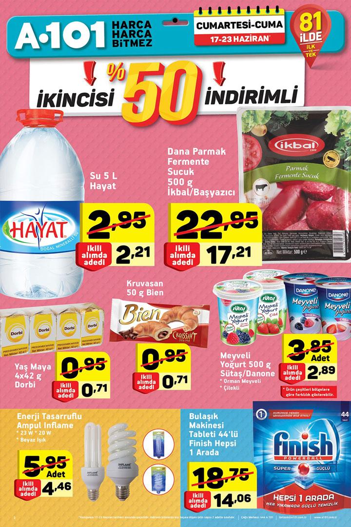 A101 17 Haziran Aktüel Ürünler Kataloğu Hafta Sonu