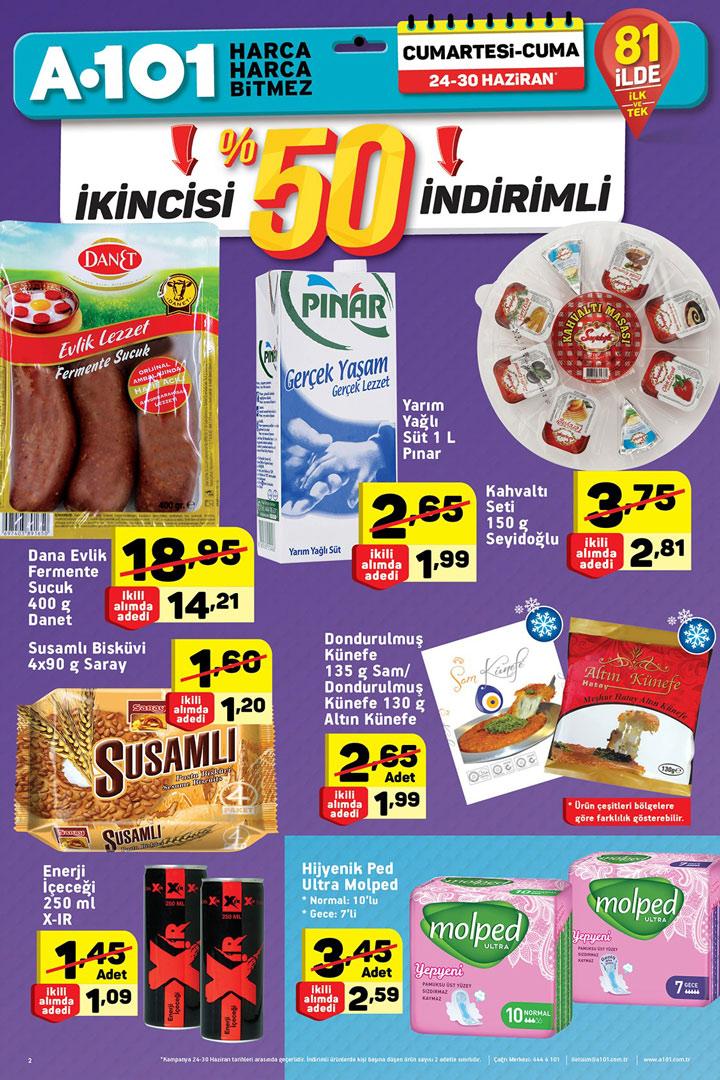 A101 24 Haziran Aktüel Ürünler Hafta Sonu Kataloğu