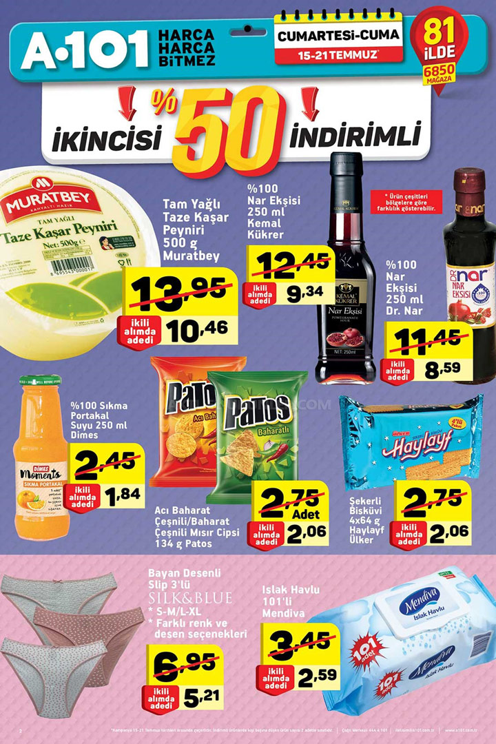 A101 15 Temmuz & 21 Temmuz Aktüel Ürünler Kataloğu
