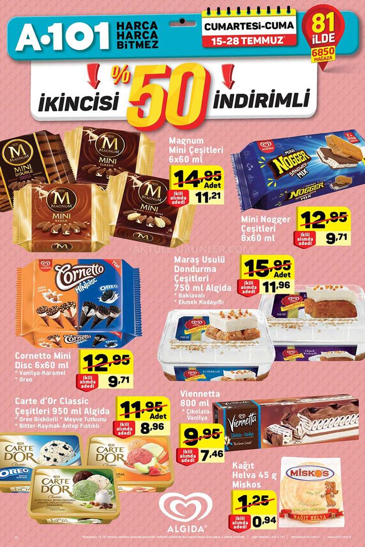 A101 15 Temmuz & 28 Temmuz Aktüel Ürünler Sayfası