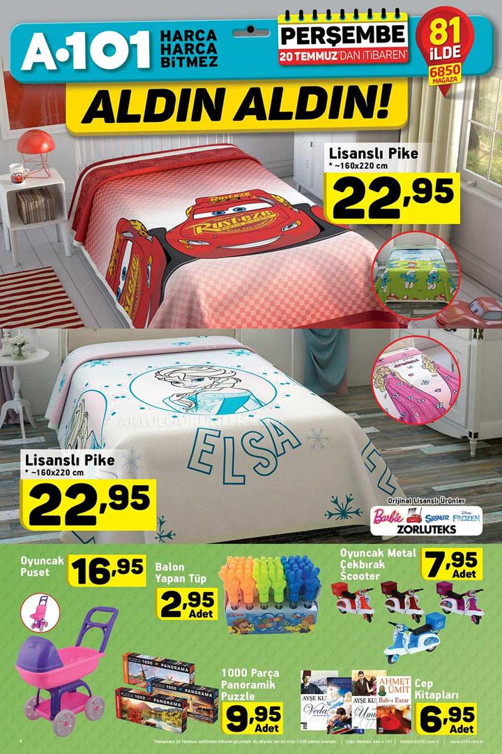 A101 20 Temmuz Pike ve Oyuncak Aktüel Ürünleri