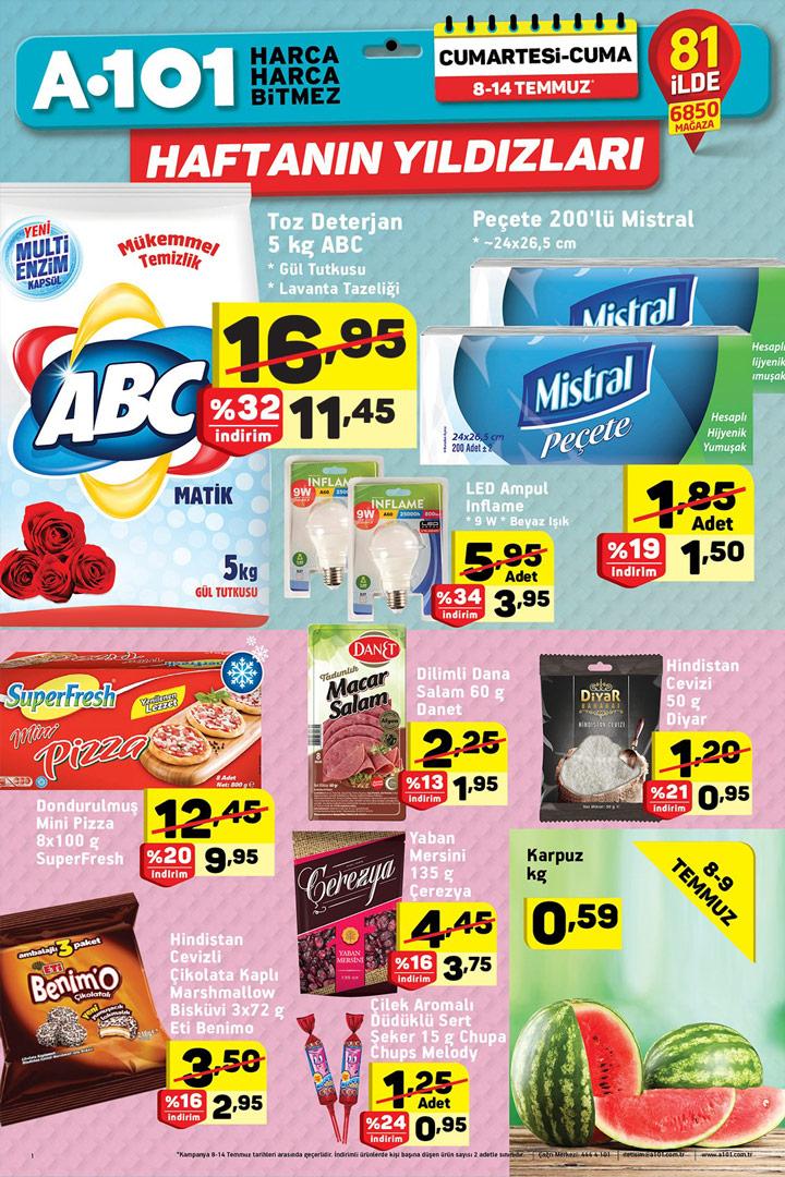 A101 8 Temmuz 2017 Aktüel Ürünler Kataloğu