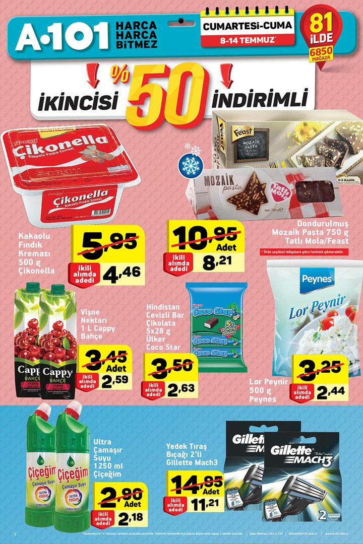 A101 8 Temmuz Aktüel Ürünler Hafta Sonu Kataloğu