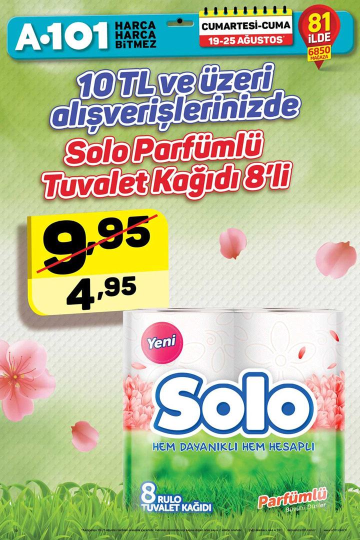 A101 19 & 25 Ağustos Solo İndirimli Ürünü İncelemesi