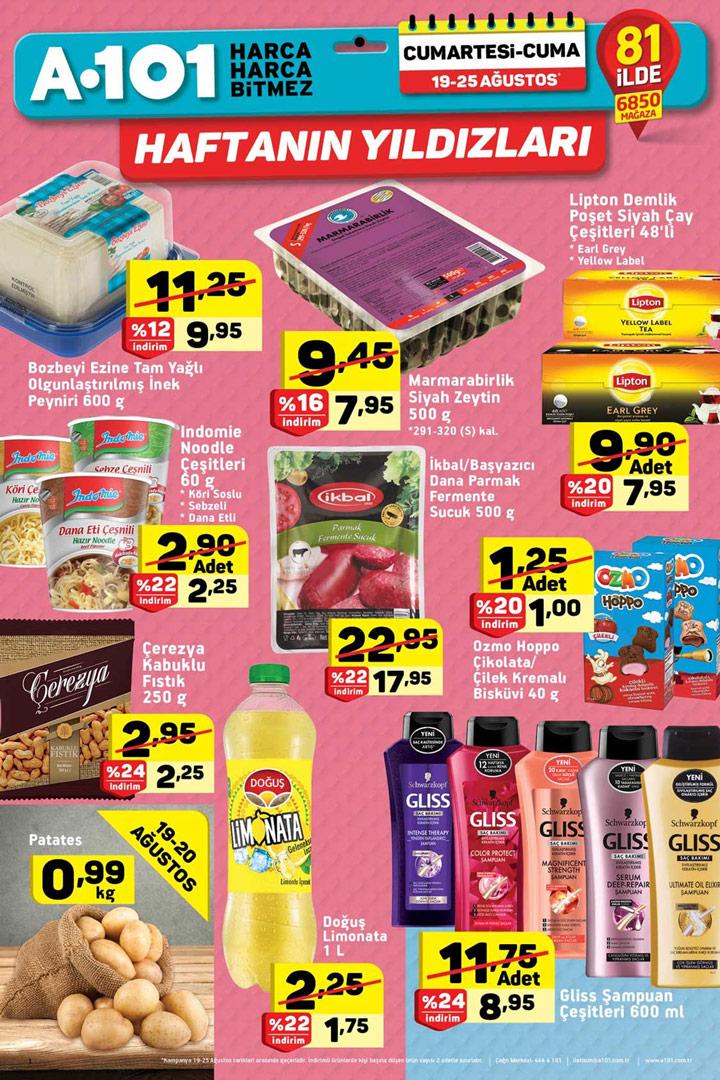 A101 19 Ağustos 2017 Aktüel Ürünler Kataloğu