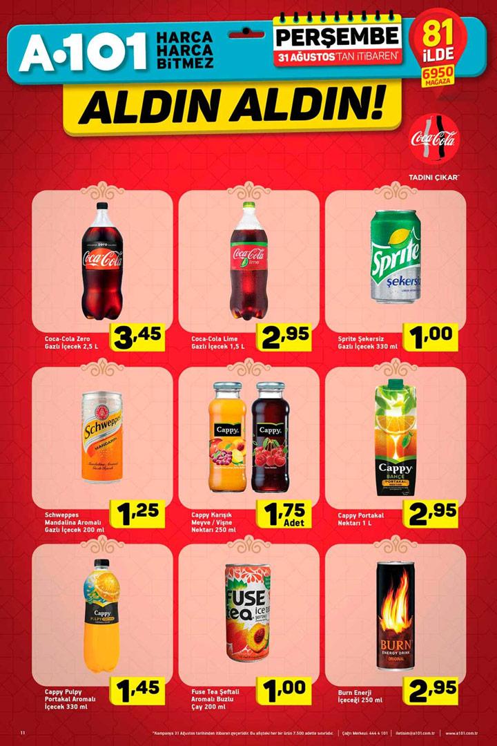 A101 31 Ağustos Coca Cola Aldın Aldın Fırsat İncelemesi