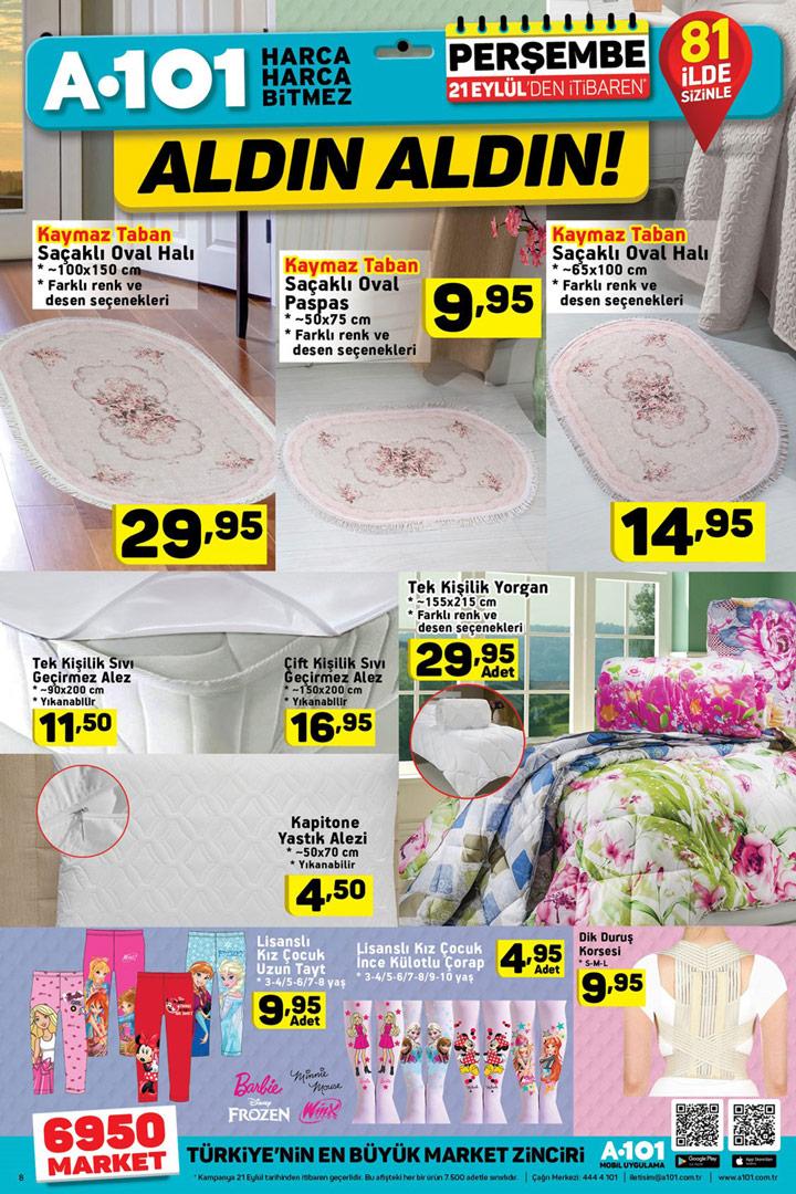 A101 21 Eylül Ev Tekstili Aktüel Ürünleri İncelemesi