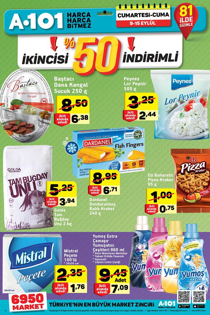 A101 9 Eylül & 15 Eylül Aktüel Ürün Katalogları