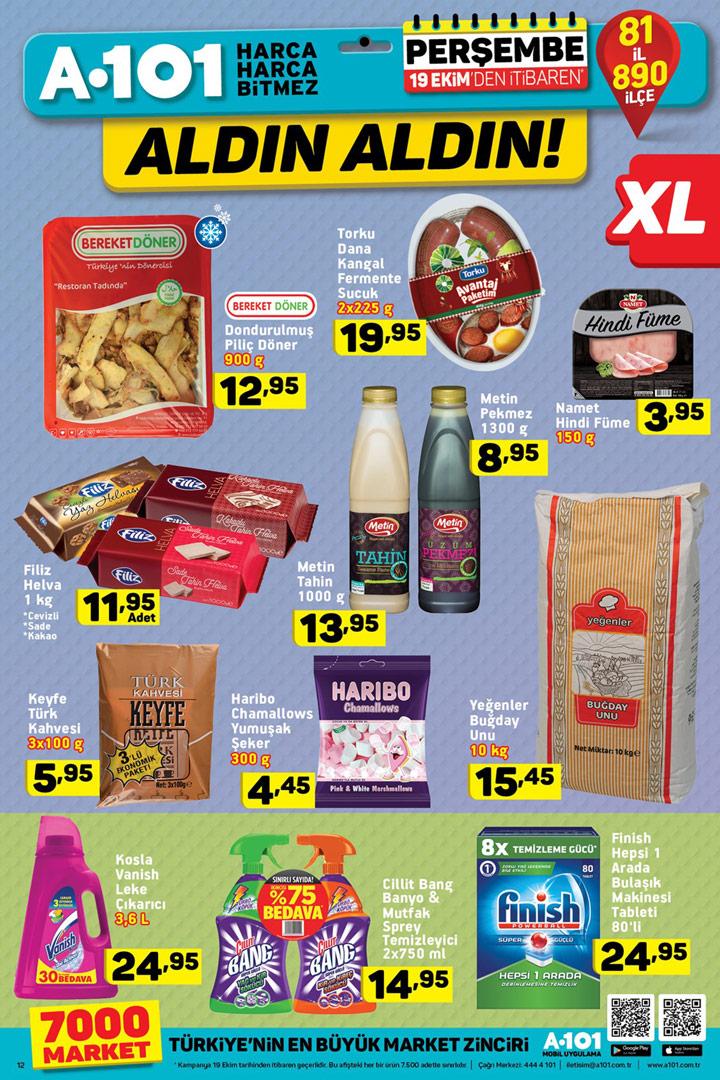 A101 19 Ekim XL Fırsatlar Muhteşem Aktüel Ürünler